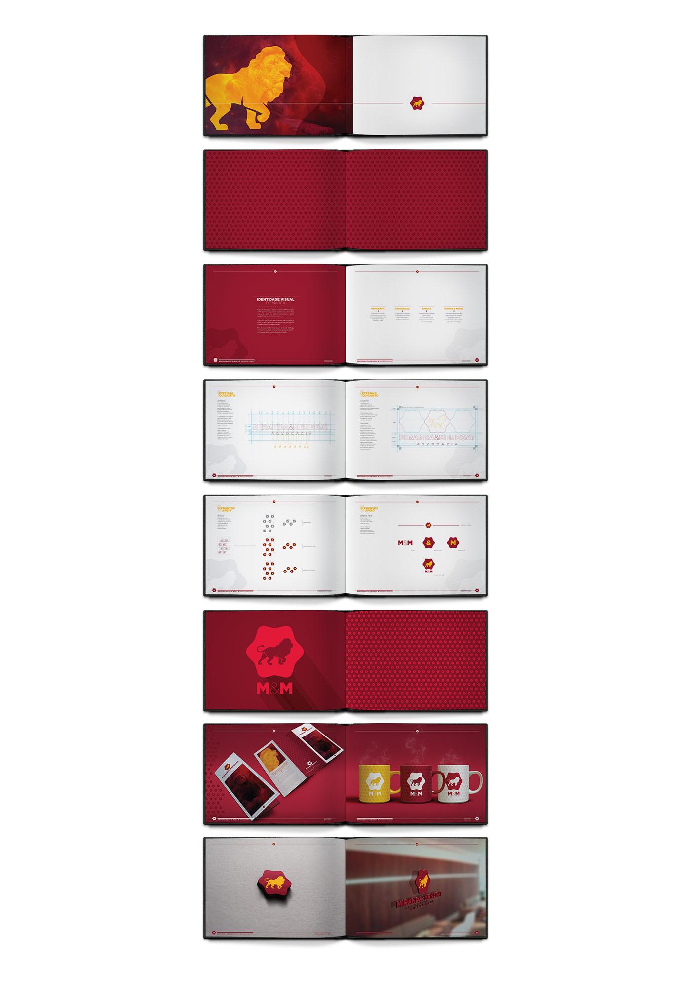 Portfolio - M&M Advogados - Branding - Livro da marca ou brand book