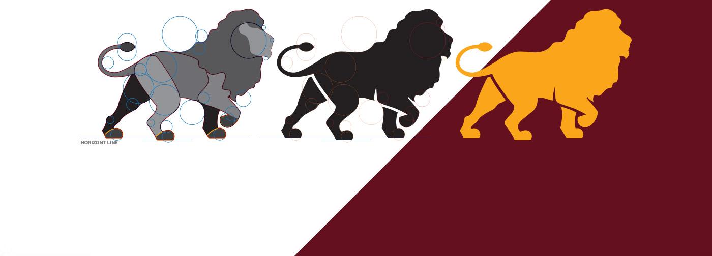 Portfolio - M&M Advogados - Branding - Desenho do símbolo