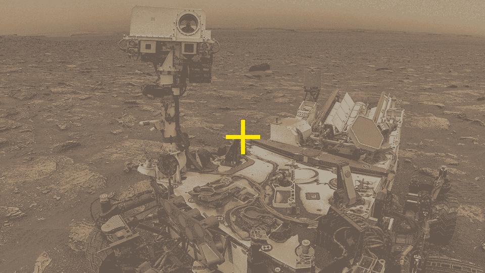 Naming, Marte e o selfie robótico